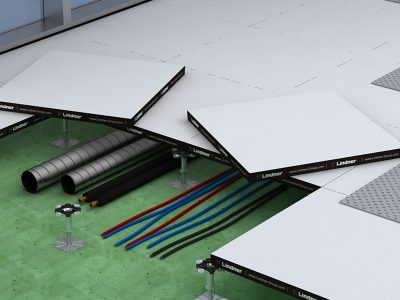 Zdvojené podlahy NORTEC